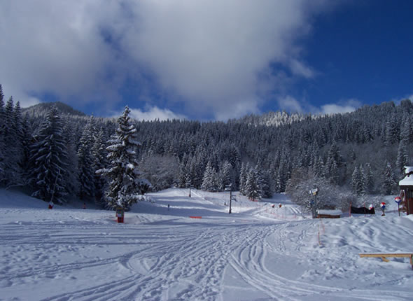 la tania pistes de ski