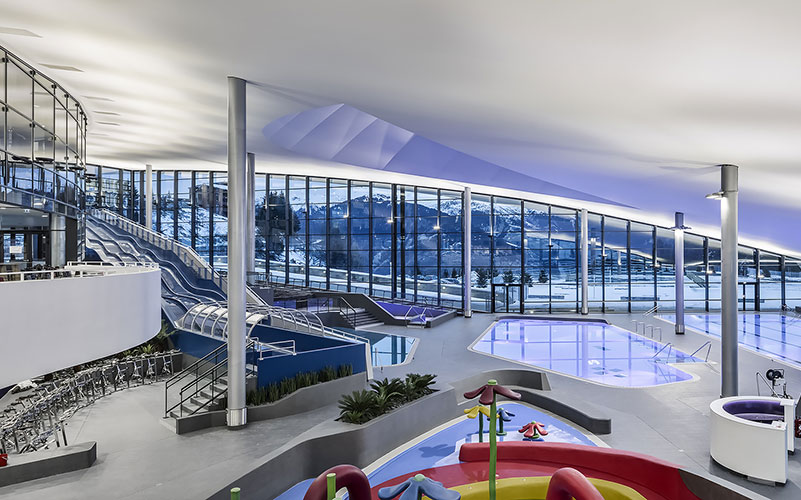 aquamotion courchevel